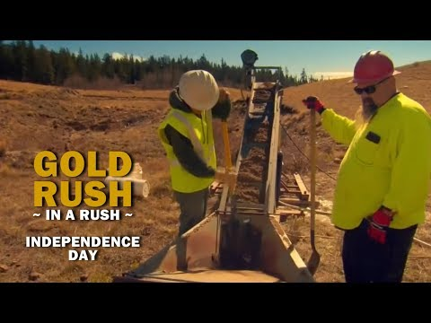 Gold Rush (In a Rush) Recap   Season 8, Episode 19   Independence Day