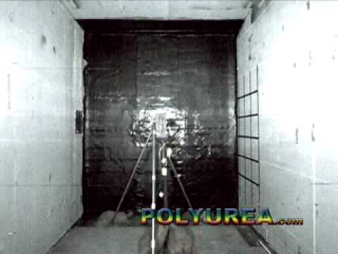 Polyurea Protects From Explosions and Anti -Terrorism Blast