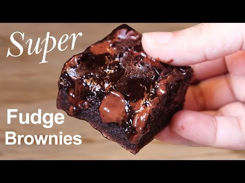Chocolate Brownies | Simple Way Of Making The Perfect Fudgy Brownie