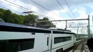 2010.7.17京成スカイライナー走行シーン集 Keisei Skyliner Max160km/h