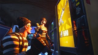 How to Steal from a Gold Vending Machine | Fortnite Short Film