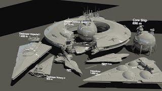 Video Starships size comparison (Star Wars) MP3, 3GP, MP4, WEBM, AVI, FLV September 2018