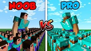 Video Minecraft NOOB vs. PRO: NOOB ARMY vs. PRO ARMY! in Minecraft! MP3, 3GP, MP4, WEBM, AVI, FLV Mei 2019