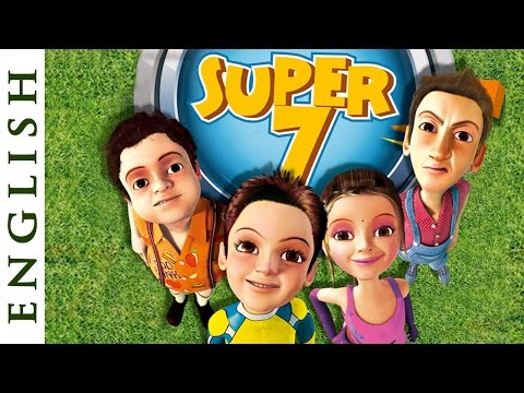Video Super Seven (English) - Fun Cartoon Movies for Kids - HD download in MP3, 3GP, MP4, WEBM, AVI, FLV January 2017