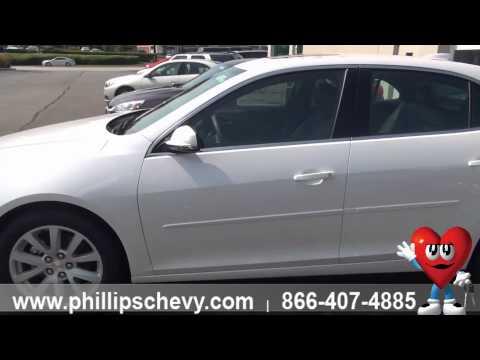 2015 Chevy Malibu 3LT - Walkaround - Phillips Chevrolet - Chicago Dealership New Car Sales