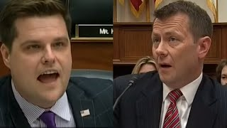 Video Rep. Gaetz has intense exchange with Peter Strzok MP3, 3GP, MP4, WEBM, AVI, FLV Juni 2019