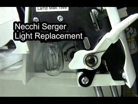Necchi Serger Replacement Light