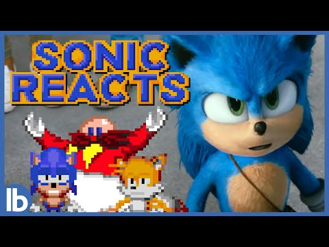 Sonic and Tails Review SONIC THE HEDGEHOG The Movie