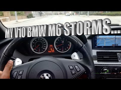 "[VLOGOLOGY] MY V10 BMW M6 ""Storms"" Coffee House"