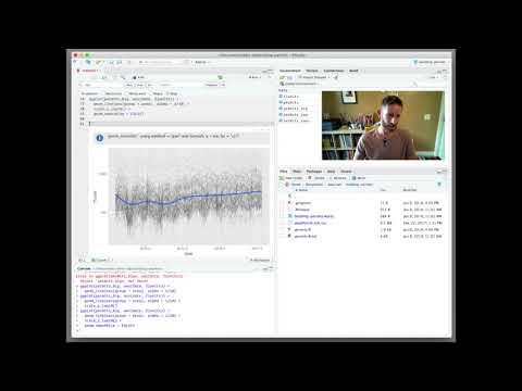Legendary data scientist Hadley Wickham demonstrates 'interactive' data exploration in R