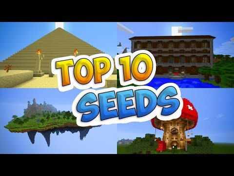 Top 10 BEST Seeds For Minecraft (Pocket Edition, PS4, Xbox, Switch, PC, Win10)