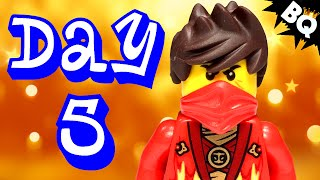 Custom LEGO Ninjago Advent Calendar 2014 Day 5 Unboxing