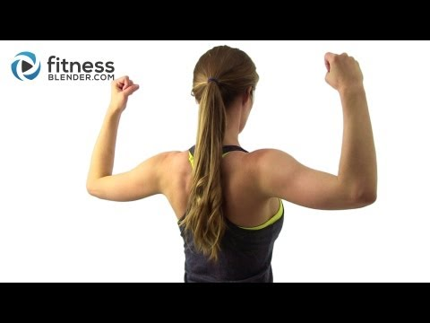 top shoulder workout - Everything you need to know about Fitness Blender's Tank Top Arms Workout Video @ http://bit.ly/1a7XSeI Like this routine? Try Tank Top Arms Round 1 @ http:/...