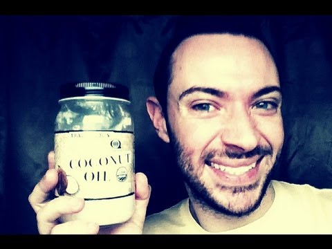 how to rinse mouth with coconut oil