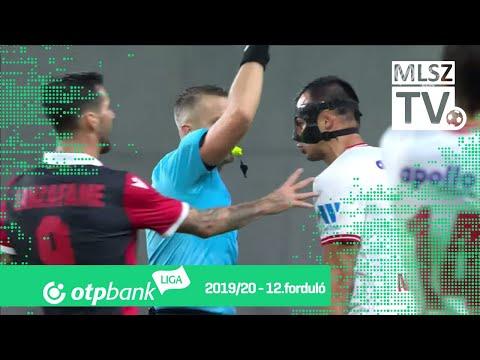 12. forduló: Honvéd - DVTK 1-0 (1-0)