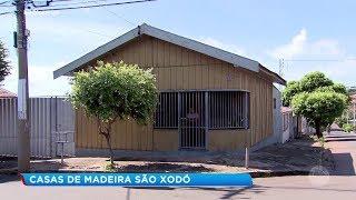 Marília: casas de madeira são relíquias do interior