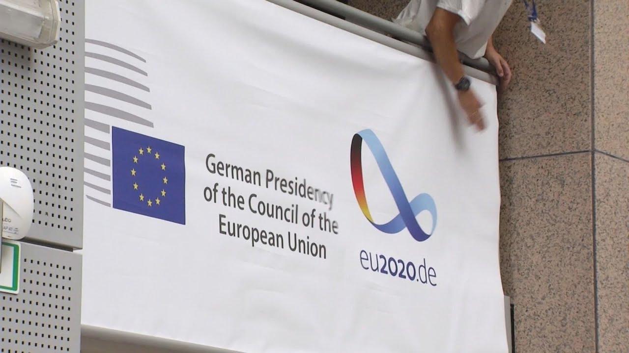 Ξεκίνησε η Προεδρία της Γερμανίας με νέο ντεκόρ στο κτίριο του Συμβουλίου στις Βρυξέλλες