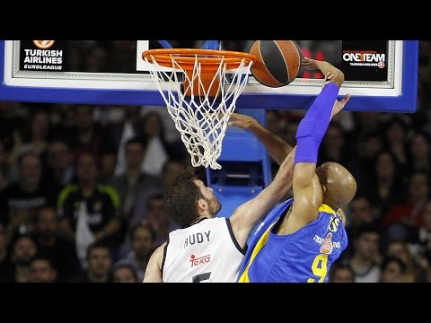 Highlights: Top 16, Round 12 vs. Maccabi Electra Tel Aviv