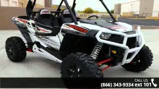 8. 2014 Polaris RZR XP 1000 EPS White Lightning LE  - RideNo...