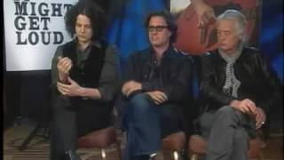 Jack White + Jimmy Page Interview