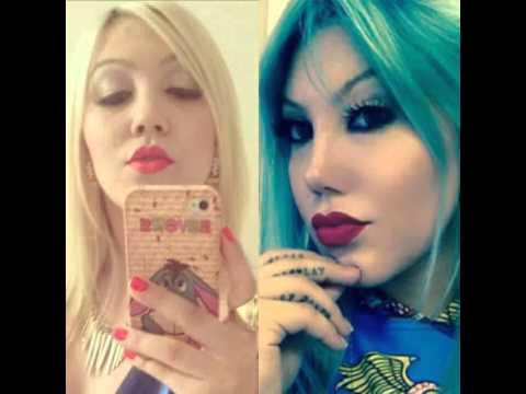 Jessica Constantino antes e depois CIRURGIAS