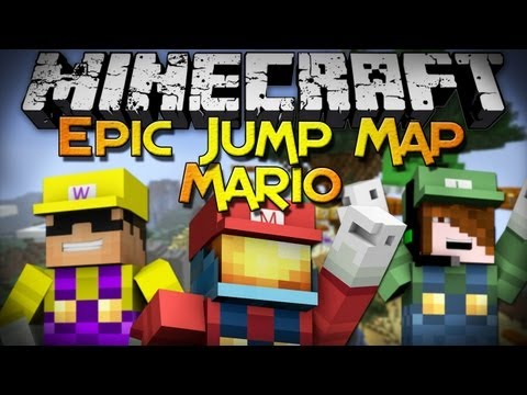 Minecraft: Epic Jump Map - Mario Edition (Part 1)