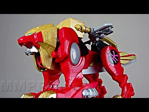 Power Rangers Super Megaforce Red Lion Zord Review!