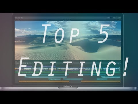 Top 5 BEST Editing Software | 2019