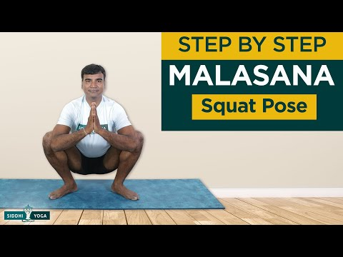 Malasana (Squat or Garland Pose)
