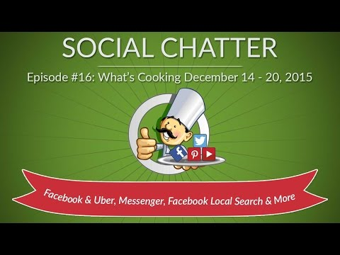 Watch 'Social Chatter - What's Cooking In Social Media for December 14 - December 20, 2015 '