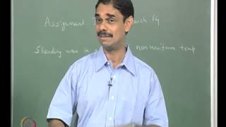 Mod-01 Lec-16 Lecture 16 : Interaction Between Sound And Combustion