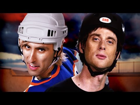 Tony Hawk vs Wayne Gretzky. Epic Rap Battles of History