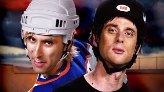"Download and Listen to this song: http://hyperurl.co/Hawk-vs-GretzkyNew ERB Website & Merch can be found at http://erbofhistory.com/Watch the Behind the Scenes - http://bit.ly/HawkvsGretzky-BTS▼ CAST ▼=========Wayne Gretzky: Zach Sherwinhttp://bit.ly/ZachSherwDownload Zach's new album """"Rap!"""" - http://apple.co/1GjuCmoTony Hawk: Nice Peterhttp://www.nicepeter.comhttp://www.youtube.com/NicePeterBobby Orr: EpicLLOYDhttp://www.epiclloyd.comhttp://www.youtube.com/EpicLLOYD▼ CREW ▼=========Executive Producers: Peter Shukoff and Lloyd AhlquistDirected by: Nice PeterCo-Director:EpicLLOYDWritten by: EpicLLOYD, Nice Peter, Mike Betette, Zach Sherwin, Dante CimadamoreSenior Director of Studios: Michelle MaloneyProducer:Atul SinghAssociate Producer:Shaun LewinProduction Coordinator:Matthew SchlisselSong Produced by: Nice PeterMixed by: Jose """"Choco"""" Reynoso and Nice PeterMastered by: Jose """"Choco"""" ReynosoMusic Supervisor: Dante CimadamoreBeat Produced by: Hollywood Legend Productions & Jose ""Choco"" ReynosoVideo Editing by: Andrew Sherman, Ryan Moulton, Nice Peter, Javi Sánchez-Blanco, Nice PeterAssistant Editor: Josh BestVFX and Compositing: Andrew Sherman, Ryan Moulton, Javi Sánchez-BlancoCostume Designer: Sulai Lopezhttp://bit.ly/291zTCHCostuming Assistant/Senior PA: Morgan Christensen Department Make Up Head: Katie MiddletonHair Department Head: Michelle ConnollyMake Up: Brittany WhiteDirector of Photography: Jon NaAC: Kyle HermanGaffer: Andy ChinnProduction Assistant: Roberto LewisProduced by: Atul Singh for Maker Studios▼ LINKS ▼=========http://erbofhistory.com/http://erbmerch.comhttp://twitter.com/ERBofHistoryhttp://instagram.com/erbhttp://facebook.com/erbhttp://nicepeter.comhttp://epiclloyd.com"