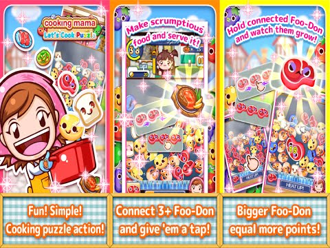 Cooking Mama Let's Cook Puzzle Android Gameplay