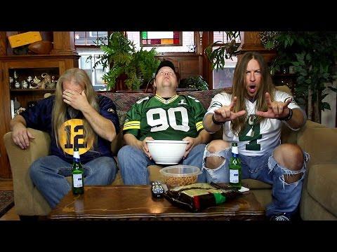 Packers vs. Bears Metal Epic Style