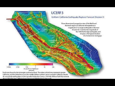Earthquake : USGS says California is at Greater Risk now for an 8.0 Quake (Mar 11, 2015)