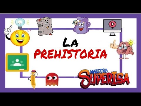 LA PREHISTORIA PARA NIÑOS|| Resumen de HISTORIA contada en 6 minutos por PROFES ⚔🏰