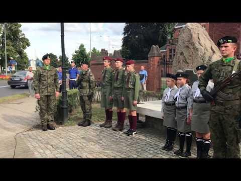 Wideo1: Obchody 75. rocznicy wybuchu Powstania Warszawskiego w Lesznie