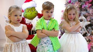 Настя и Гринч - Кто испортил детям Новый год?