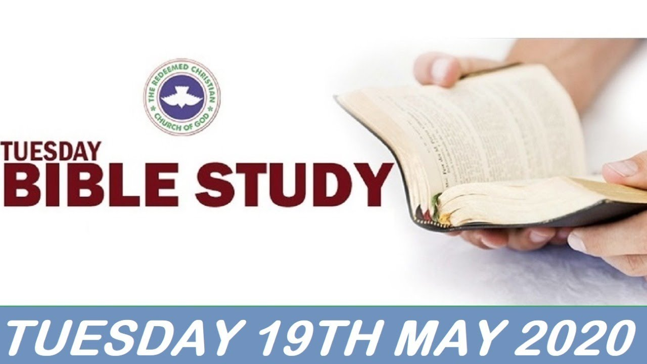RCCG 19th May 2020 Bible Study with Pastor E. A. Adeboye