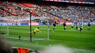 Britt Assombalonga's Penalty against Chesterfield at Wembley