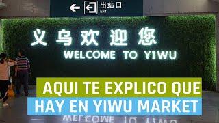 Yiwu China  City new picture : Yiwu Market: Viajar al Mercado de Yiwu en Búsqueda de Proveedores y Productos para Impoartar