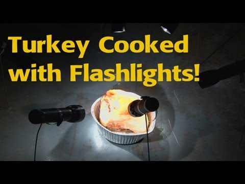 How Long Does It Take To Cook Turkey With The World's Most Powerful Torches?