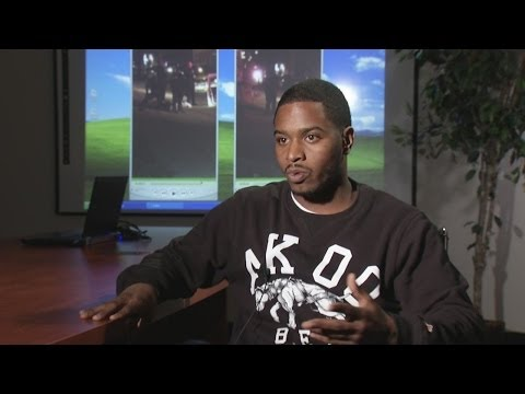Man speaks out after alleged police brutality