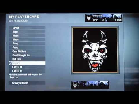 Call of Duty Black Ops: Hellhound Emblem Tutorial