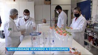 Unesp de Bauru fabrica álcool glicerinado