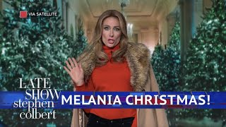 Video Melania Trump Is Dreaming Of A Dark Christmas MP3, 3GP, MP4, WEBM, AVI, FLV Oktober 2018