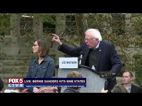 FOX 5 LIVE (10/19): Bernie Sanders in Ind.; Megamillions jackpot now at $1B; Sessions in Chicago