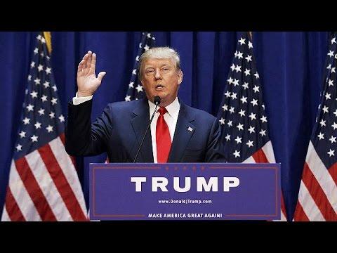ΗΠΑ: Υποψήφιος πρόεδρος και ο δισεκατομμυριούχος Ντόναλντ Τραμπ