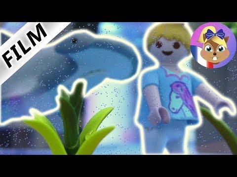 Playmobils Next Topmodel Kids   Challenge dans un aquarium avec un requin marteau